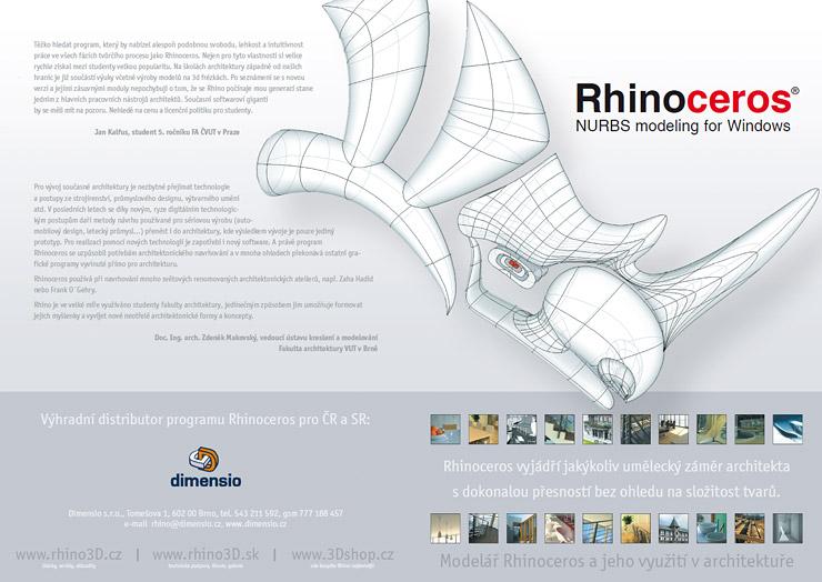 Rhino a architektura - 1. strana